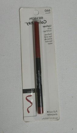 1 liner REVLON COLORSTAY LIP LINER 660 MAUVE pull out sharpe