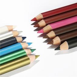 "12 PCS 6"" Waterproof Lipstick Lip Liner Long Lasting Matte L"