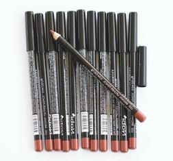12 pcs NABI L02 BROWN Lip Liner Lipliner Pencil