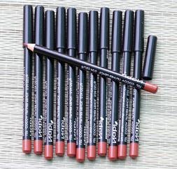 12 PCS NABI L07 COCOA LIP Liner Pencil