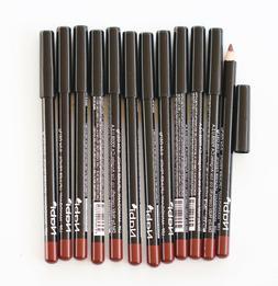 12 pcs l09 mahogany lip liner lipliner