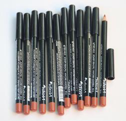 12 pcs NABI L15 MEDIUM BROWN Lip Liner Pencil