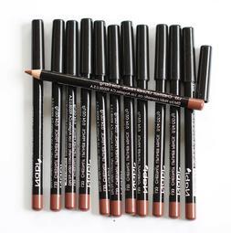 12 pcs NABI L33 CHESTNUT Lip Liner Lipliner Pencil