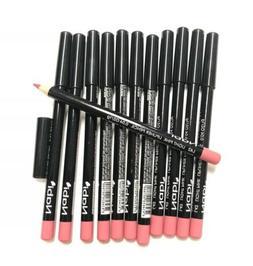 12 pcs l42 light pink lip liner