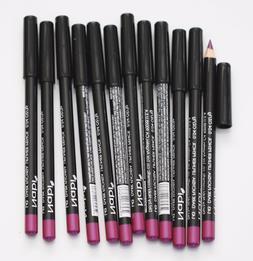 12 pcs NABI L43 DARK FUCHSIA Lip Liner Pencil