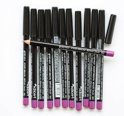 12 pcs NABI L56 LILAC GLITTER Lip Liner Lipliner Pencil