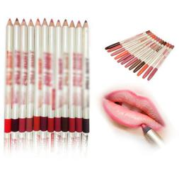 12PCS Lot Colors Professional Lipliner Waterproof Lip Liner