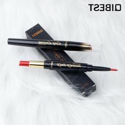 QIBEST 2 In 1 Double Head Lip Liner Pencils Lipstick Waterpr