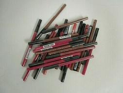 25 NYX SLIDE ON, GLIDE ON, STAY ON LIP LINER ASSORTED SHADES