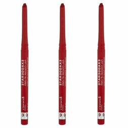 3 pack new exaggerate lip liner red