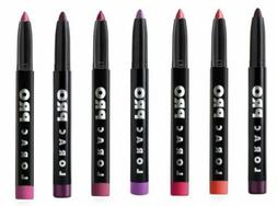 3 Pack Lorac Pro Matte Lip Color Lipstick High Pigment, Retr
