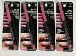 4 New Maybelline Color Sensational Shaping Lip Liner Palest