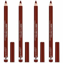 NEW Rimmel 1000 Kisses Stay On Lip Liner Coffee Bean 0.04 O