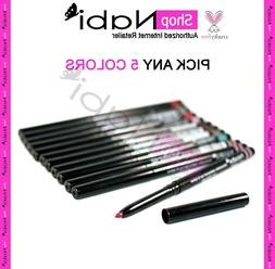 5pcs Nabi Retractable Waterproof Eyeliner & Lipliner _cruelt