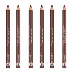 NEW Rimmel 1000 Kisses Stay On Lip Liner ,Coffee Bean, 0.04