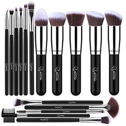 BESTOPE Makeup Brushes 16 PCs Makeup Brush Set Premium Synth