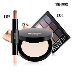 Blusher Lip Gloss Shimmer Eyeshadow Palette, Makeup Kit Brus