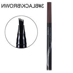 Eyebrow Pen,DEESEE New Durable PHOERA Makeup Tattoo Ultra-fi