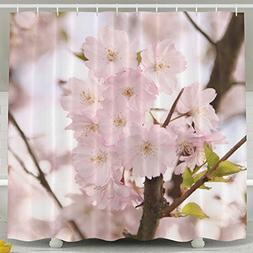aestheticism pink cherry blossom landscape