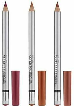 Maybelline New York ColorSensational Lip Liner - 3 Set