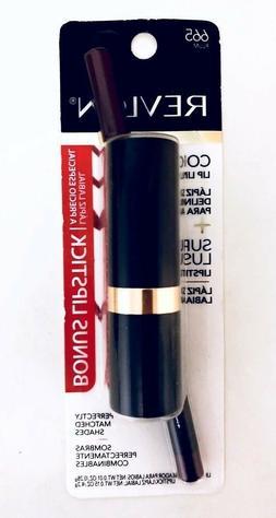 Revlon Colorstay Lip Liner 665 Plum + Super Lustrous Lipstic