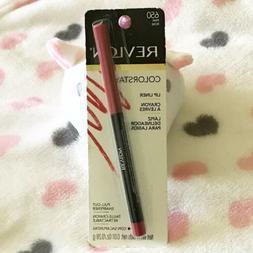 Revlon Colorstay Lip Liner PINK 650 w/Pull-Out Sharpener .01