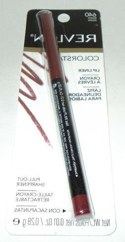 REVLON Colorstay Lip liner RAISIN 640 New In package
