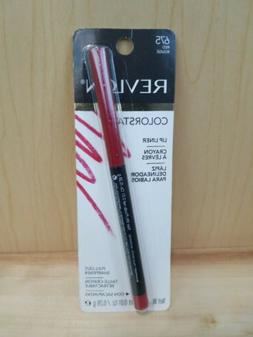Revlon Colorstay Lip Liner W Pull Out Sharpener 645 Red Roug