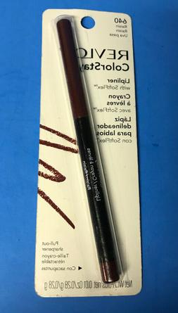 Revlon ColorStay Lip liner with SoftFlex #640 Raisin