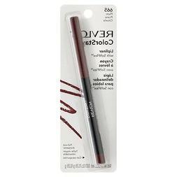 Revlon ColorStay Lip Liner with SoftFlex, Plum  1 ea