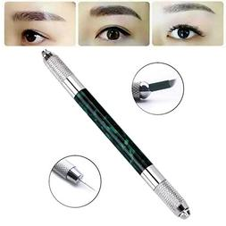 CCbeauty Double Ended Eyebrow Tattoo Pen Liner Manual Microb
