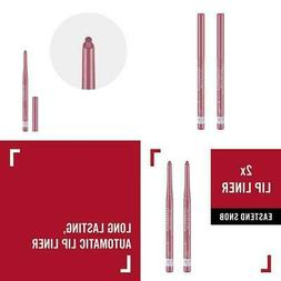 Rimmel Exaggerate Lip Liner, Eastend Snob, 2 Count