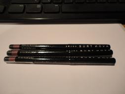 3 AVON glimmerstick lip liner MYSTERY MAUVE lot of 3 NEWmfg