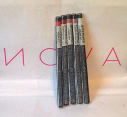 Avon Glimmersticks twist up-Lip Liners-coral-red-clear-pink-