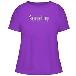 BH Cool Designs got Beurre? - Cute Women's Graphic Tee, Purp