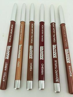 """Jordana Kohl Kajal Lip Liner Pencil 5""""Mix Colors : BRONZE,TE"""
