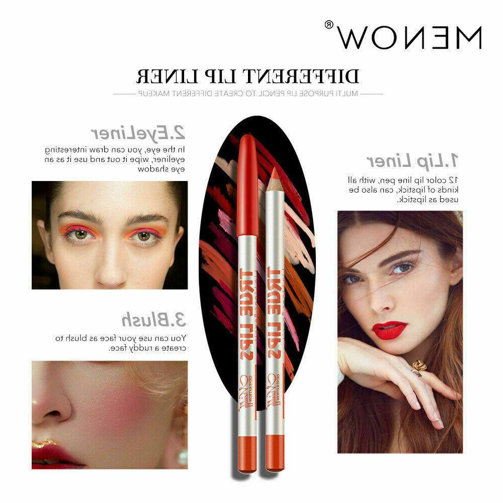 MeNow 12 Colors Lip Liner Matte Lip