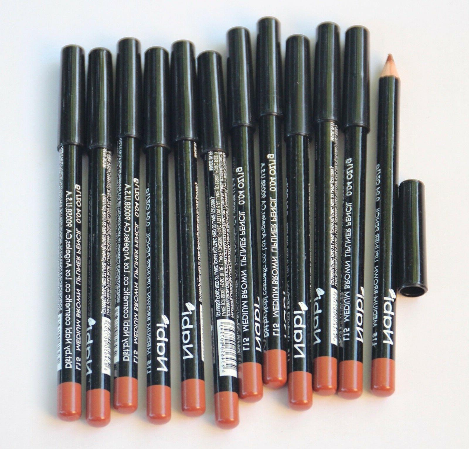 12 pcs l15 medium brown lip liner