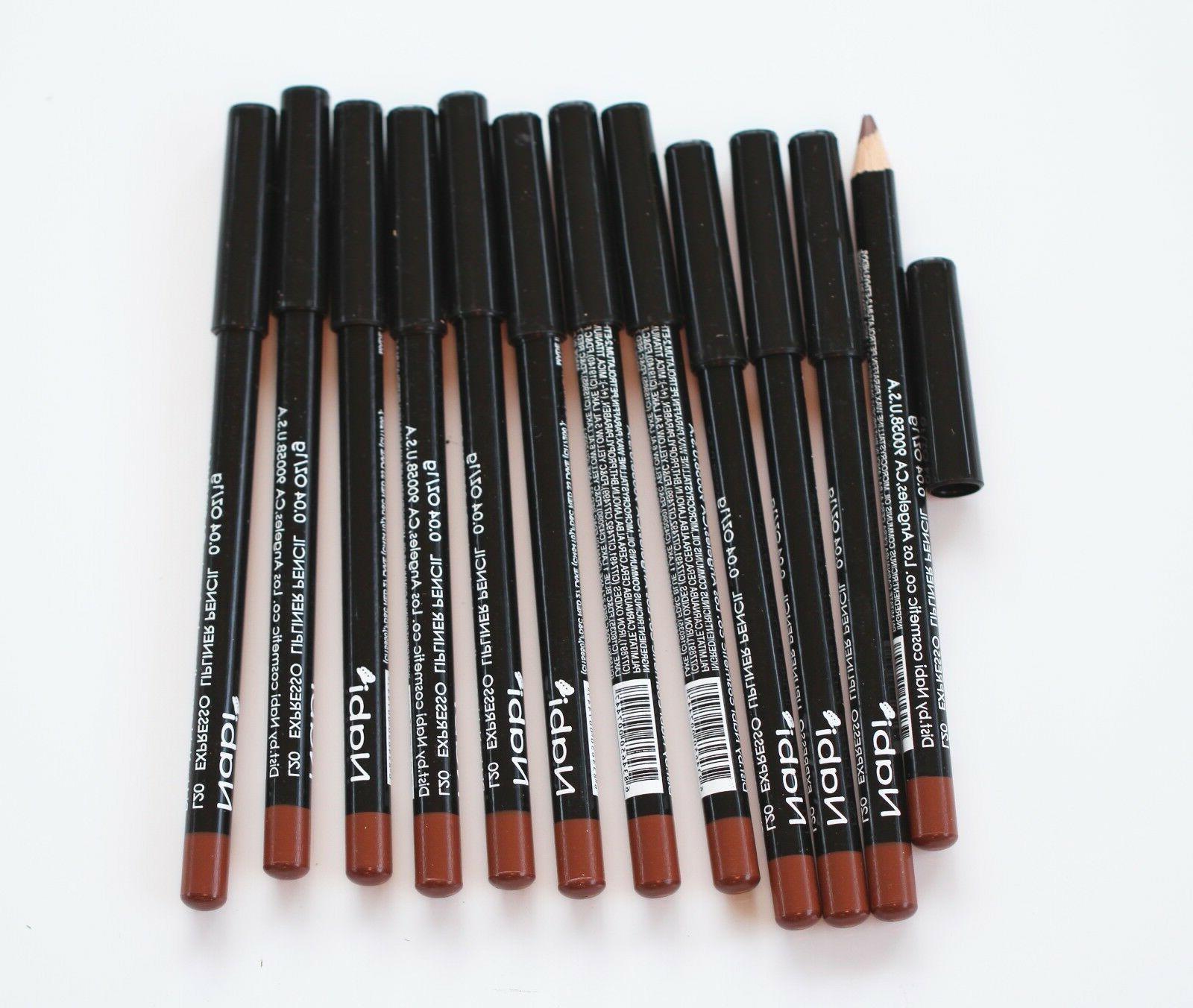 12 pcs l20 expresso lip liner pencil