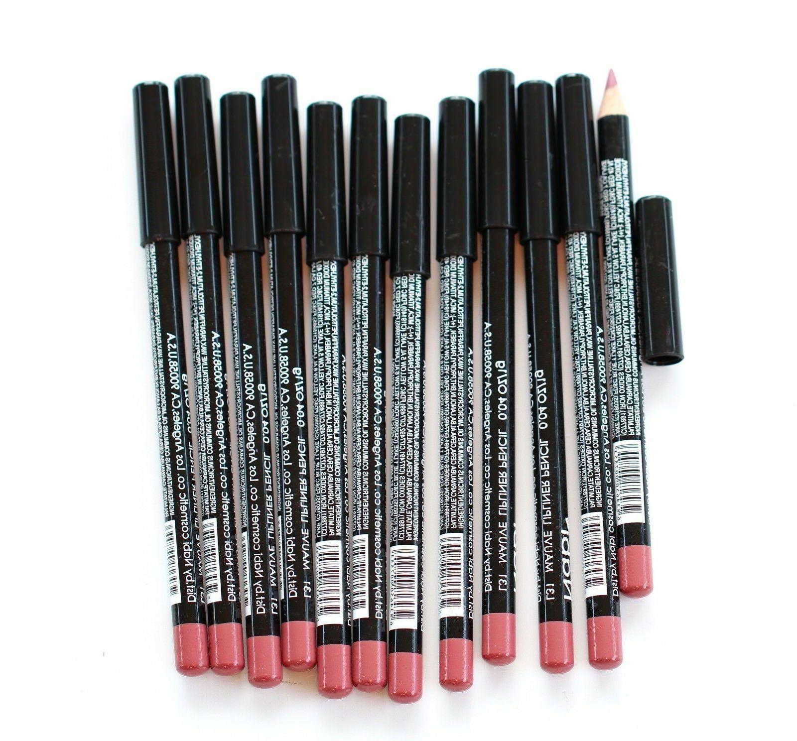 12 pcs l31 mauve lip liner pencil