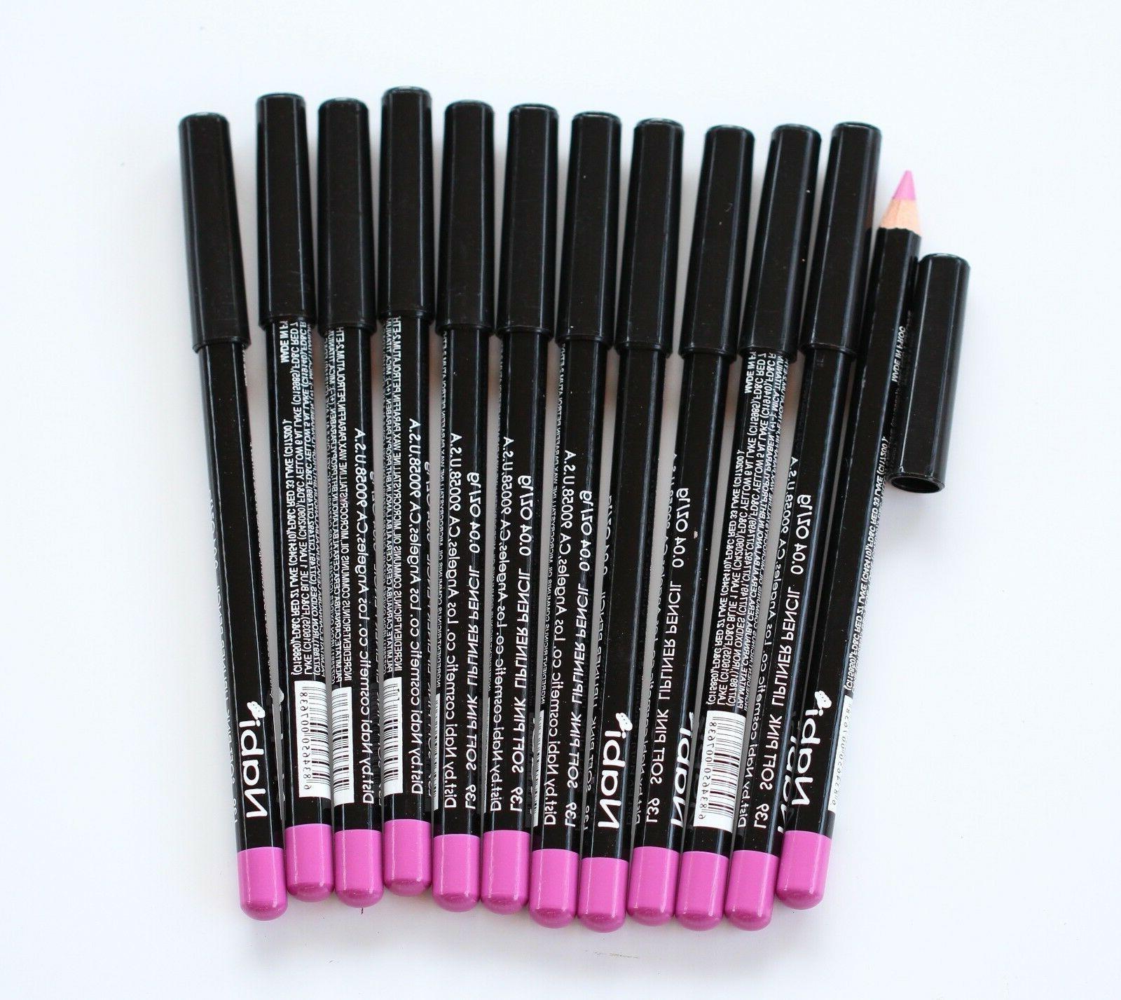 12 pcs l39 soft pink lip liner