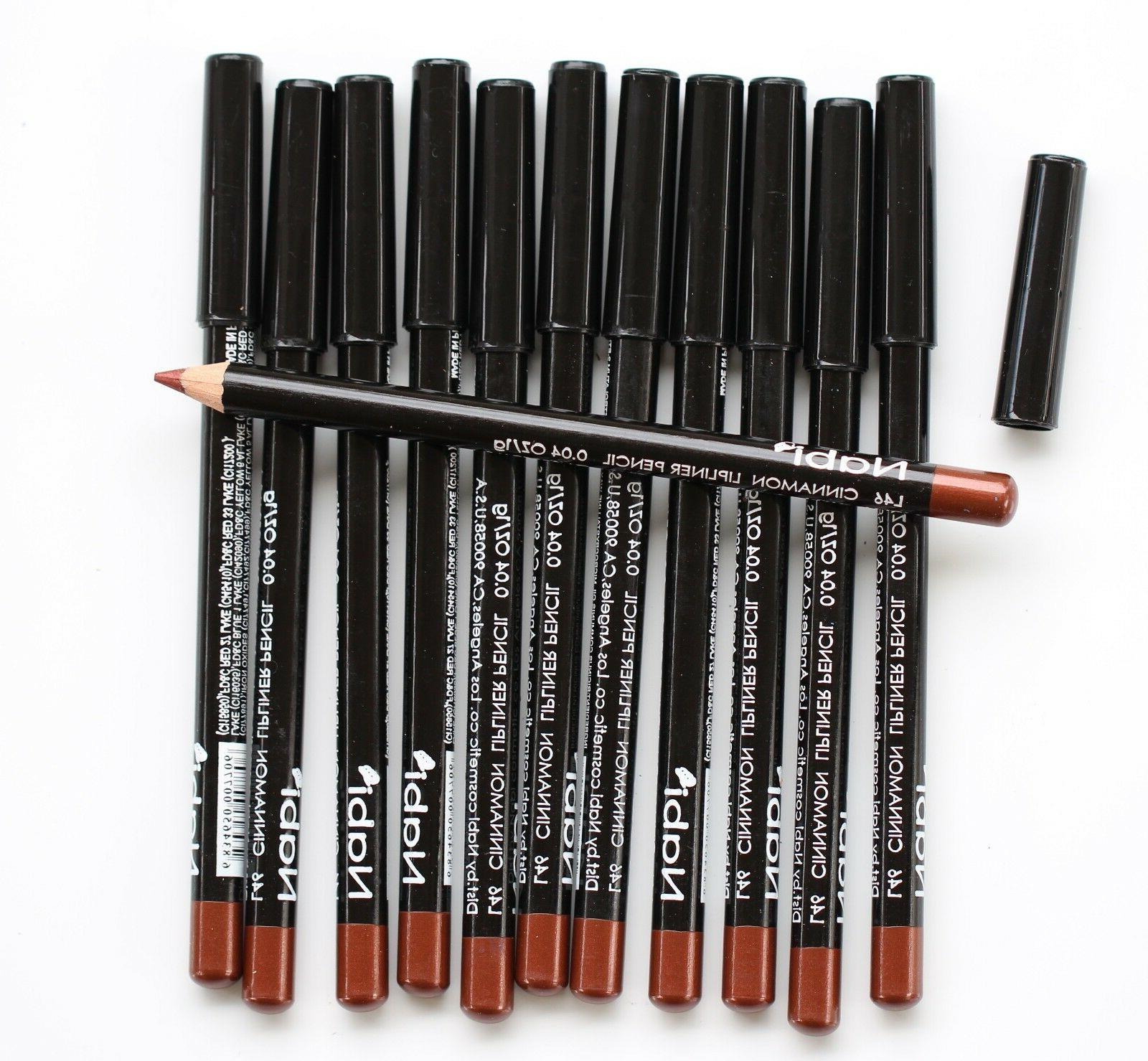 12 pcs l46 cinnamon lip liner lipliner