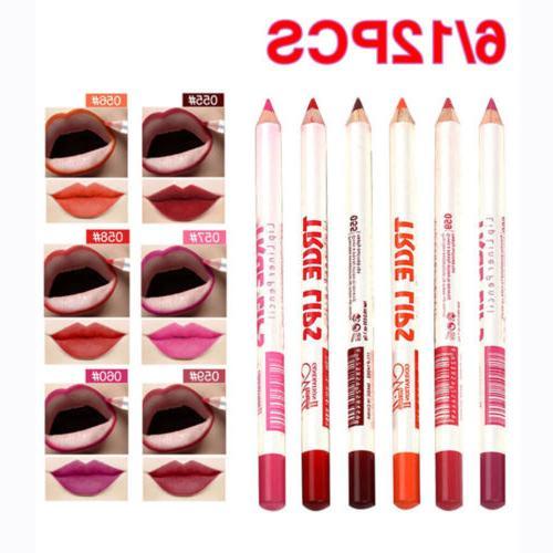 12 PCS/Set Waterproof Lip Matte Pencil
