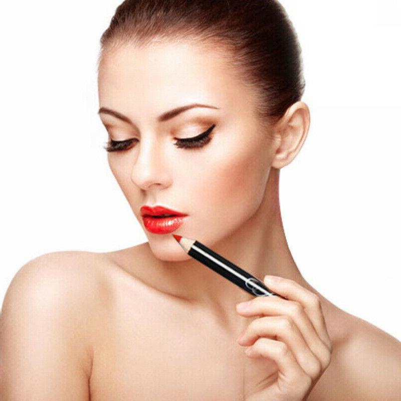 12Pcs Lipstick Pen Pencil Lip Long Lasting Makeup Pen Set
