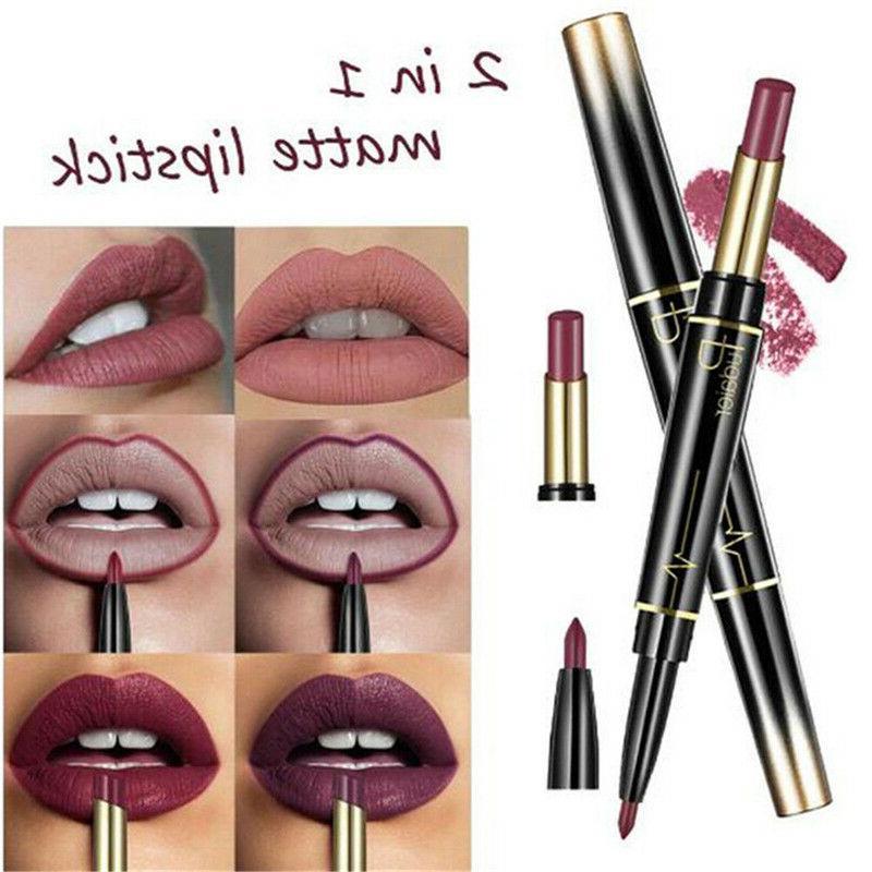 16 Lip Lipstick Lip Pencil Double-end