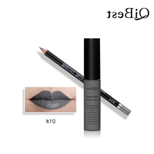 Liquid Gloss Lip Liner Pencil Pen Makeup YT6