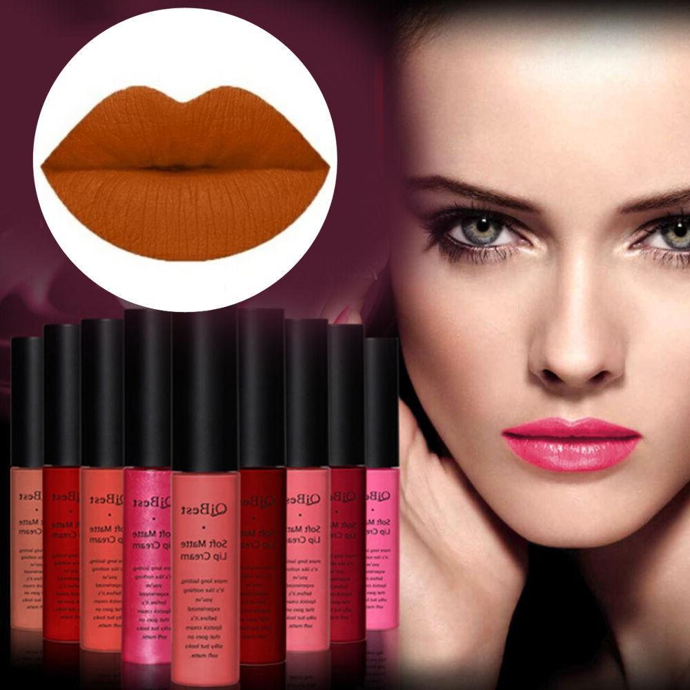 16colors qibest matte liquid lip gloss lipstick