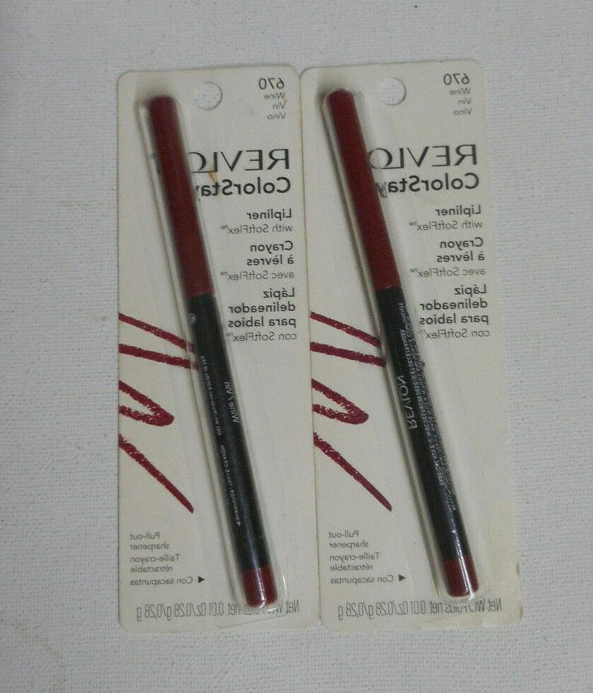 2 liner lot colorstay lip liner 670