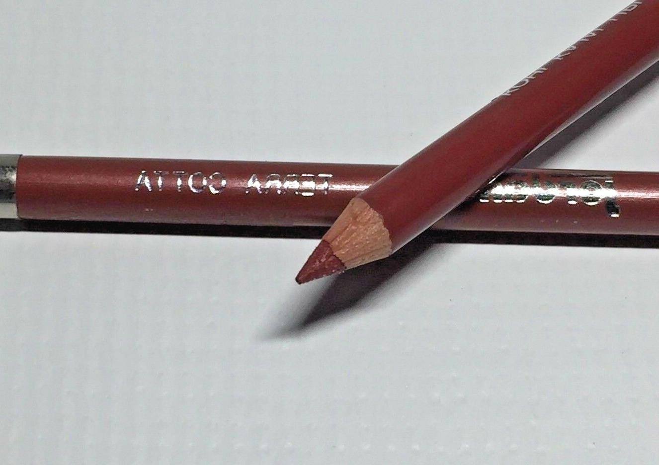 2 LOT Kohl Kajal Lip pencil COTTA