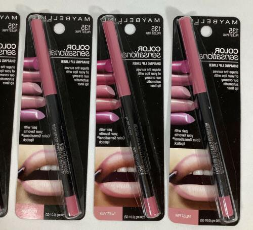 4 New Maybelline Sensational Shaping Palest Pink FREE